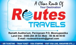 ROUTES TRAVELS