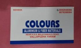 COLOURS Aluminum…