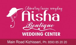 AISHA BOUTIQUE…