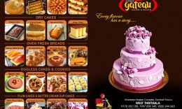GATEAU CAKES…