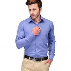 Blue Formal Regular Fit Shirt