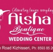 AISHA BOUTIQUE WEDDING CENTER