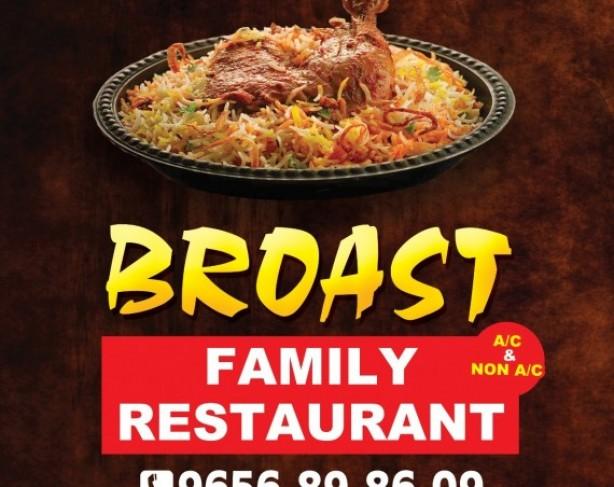 BROAST FAMILY RESTAURANT