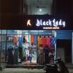 BLACK LADY FASHION ABAYA