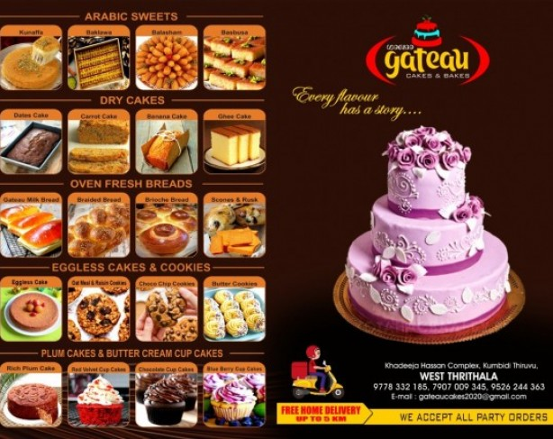 GATEAU CAKES AND BAKES
